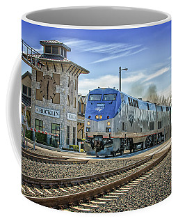 Coffee Mug featuring the photograph Amtrak 112 by Jim Thompson