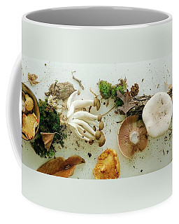 An Assortment Of Mushrooms Coffee Mug
