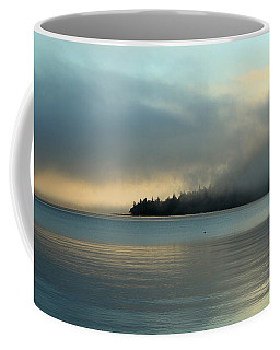 An Island In Fog Coffee Mug
