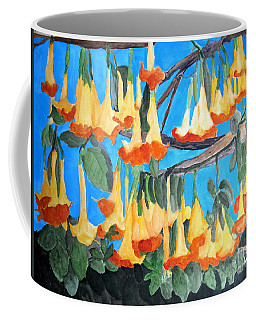 Angel Trumpets Coffee Mug