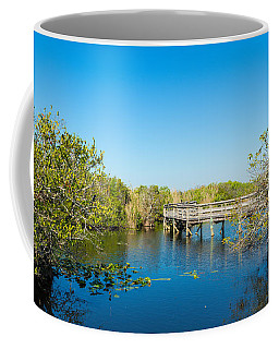 Anhinga Trail Boardwalk, Everglades Coffee Mug