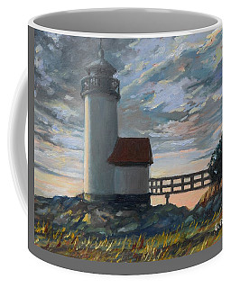 Annisquam Light Coffee Mug by Eileen Patten Oliver
