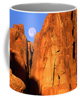 Arches Moonset Coffee Mug
