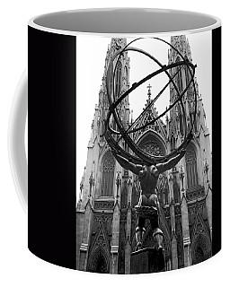 Atlas In Rockefeller Center Coffee Mug