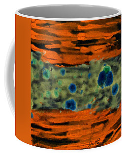 Coffee Mug featuring the painting Autumn Breeze by Joan Reese