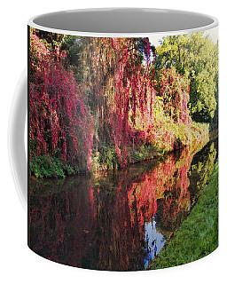 Coffee Mug featuring the digital art Autumn Colours by Paul Gulliver