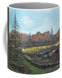 Autumn Landscape Coffee Mug by Jan Dappen