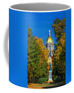 Autumn On The Campus Of Notre Dame Coffee Mug