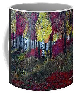 Autumn Peak Coffee Mug by Dick Bourgault