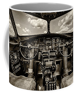 Cockpit Of A B-17 Coffee Mug