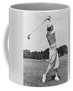 Babe Didrikson Golfing Coffee Mug