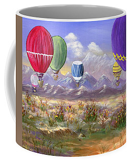 Coffee Mug featuring the painting Balloons by Jamie Frier