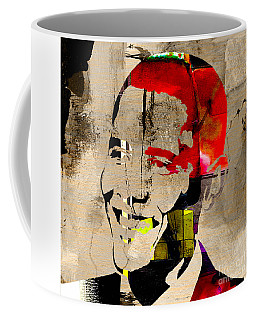 Barack Obama Coffee Mug by Marvin Blaine