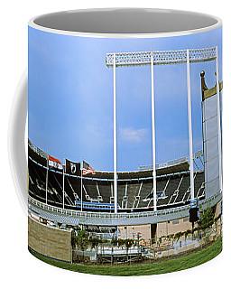 Baseball Stadium In A City, Kauffman Coffee Mug