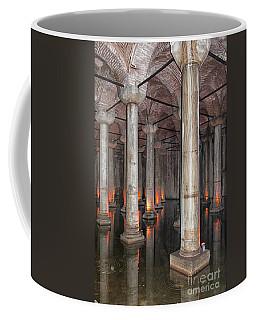 Basilica Cistern 02 Coffee Mug by Antony McAulay