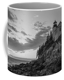 Bass Harbor Head Light Sunset  Coffee Mug