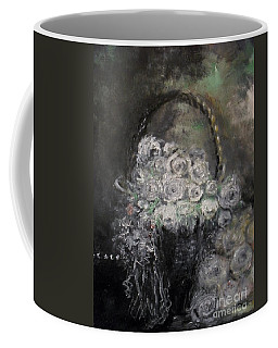 Coffee Mug featuring the painting Beautiful Roses by Laurie Lundquist