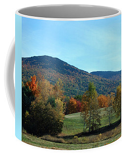 Coffee Mug featuring the photograph Belknap Mountain by Mim White