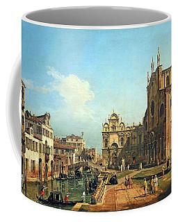 Bellotto's The Campo Di Ss. Giovanni E Paolo In Venice Coffee Mug by Cora Wandel