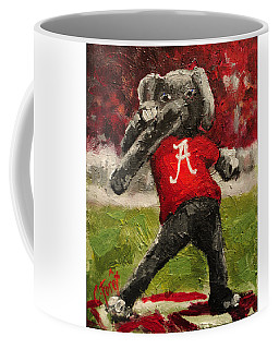 Big Al Coffee Mug by Carole Foret