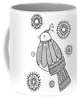 Bird Dove Coffee Mug