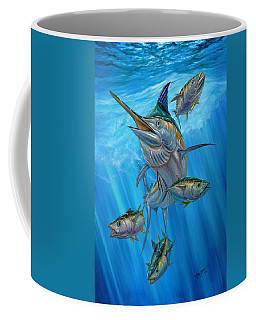 Black Marlin And Albacore Coffee Mug