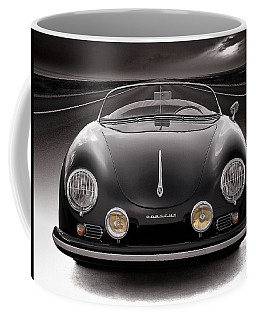 Black Porsche Speedster Coffee Mug