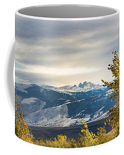 Coffee Mug featuring the photograph Blacktooth by Michael Chatt