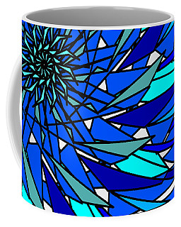Blue Sun Coffee Mug