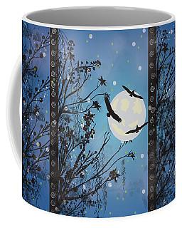 Blue Winter Coffee Mug by Kim Prowse