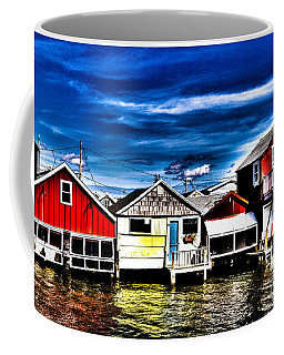 Coffee Mug featuring the photograph Boathouse Row by William Norton
