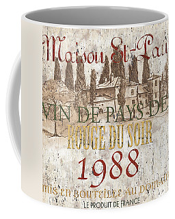 Bordeaux Blanc Label 1 Coffee Mug