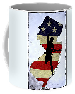 Born In New Jersey Coffee Mug by Bill Cannon