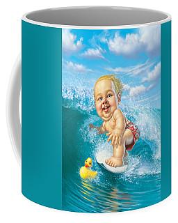 Born To Surf Coffee Mug