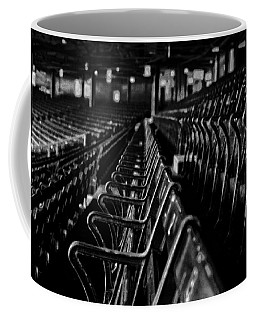 Bostons Fenway Park Baseball Vintage Seats Coffee Mug by Doc Braham