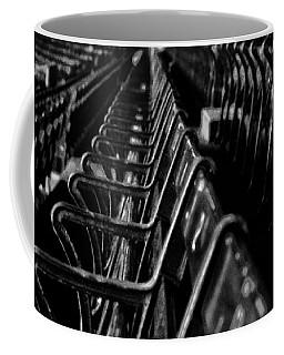 Bostons Fenway Park Baseball Vintage Seats Coffee Mug