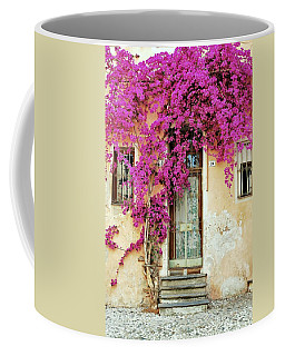 Bougainvillea Doorway Coffee Mug