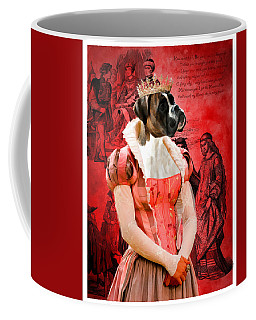 Boxer Art Canvas Print Coffee Mug