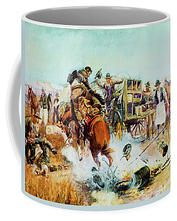 Bronc For Breakfast Coffee Mug
