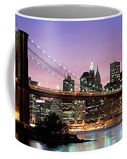 Brooklyn Bridge New York Ny Usa Coffee Mug
