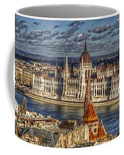 Buda Parliament  Coffee Mug by Nathan Wright