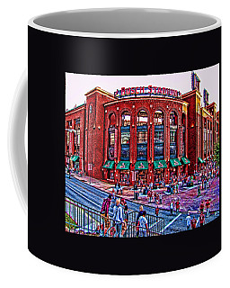 Coffee Mug featuring the photograph Busch Stadium by John Freidenberg