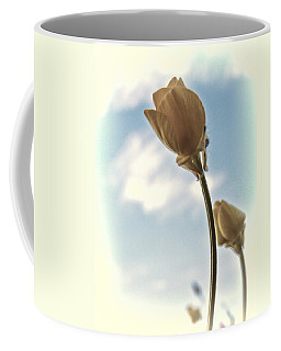 Coffee Mug featuring the photograph Buttercup Stretch by Beth Sawickie