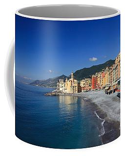 Coffee Mug featuring the photograph Camogli - Italy by Antonio Scarpi