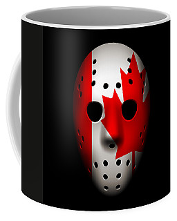 Canada Goalie Mask Coffee Mug