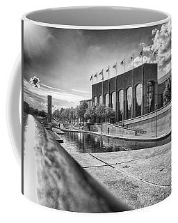 Coffee Mug featuring the photograph Canal Walk by Howard Salmon