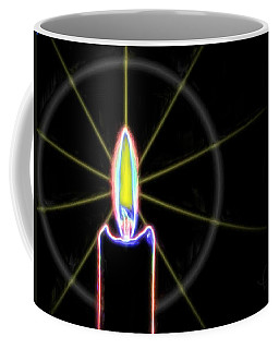 Candle Coffee Mug by Ludwig Keck
