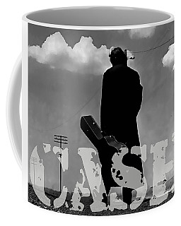 Johnny Cash Coffee Mug by Marvin Blaine