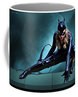 The Feline Fatale Coffee Mug