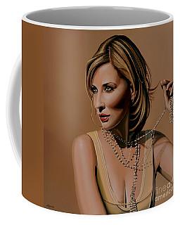 Cate Blanchett Painting  Coffee Mug